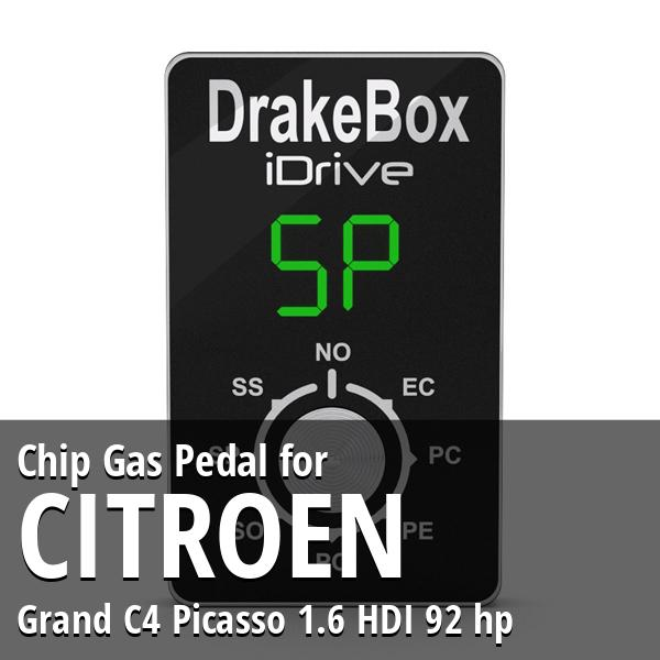 chip citroen grand c4 picasso 1 6 hdi 92 hp gas pedal. Black Bedroom Furniture Sets. Home Design Ideas