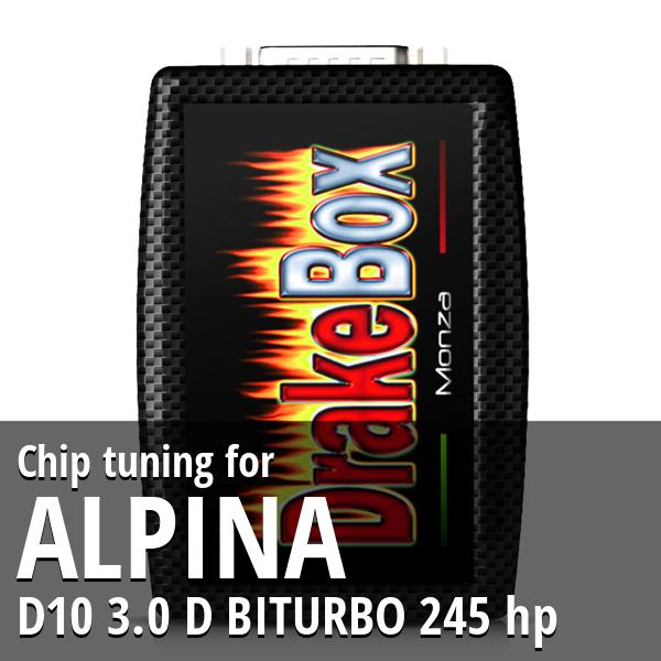 Chip tuning Alpina D10 3.0 D BITURBO 245 hp