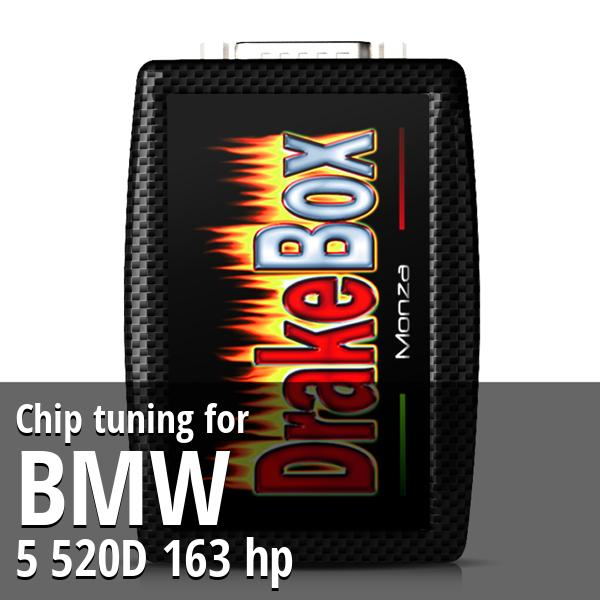 Chip tuning Bmw 5 520D 163 hp