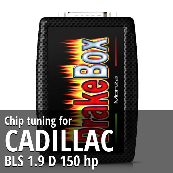 Chip tuning Cadillac BLS 1.9 D 150 hp
