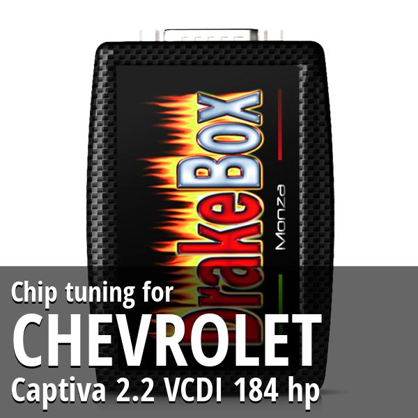 Chip tuning Chevrolet Captiva 2.2 VCDI 184 hp