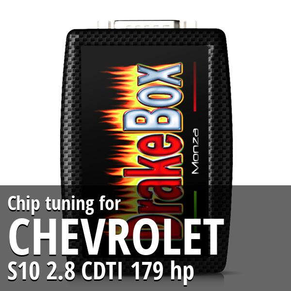 Chip tuning Chevrolet S10 2.8 CDTI 179 hp