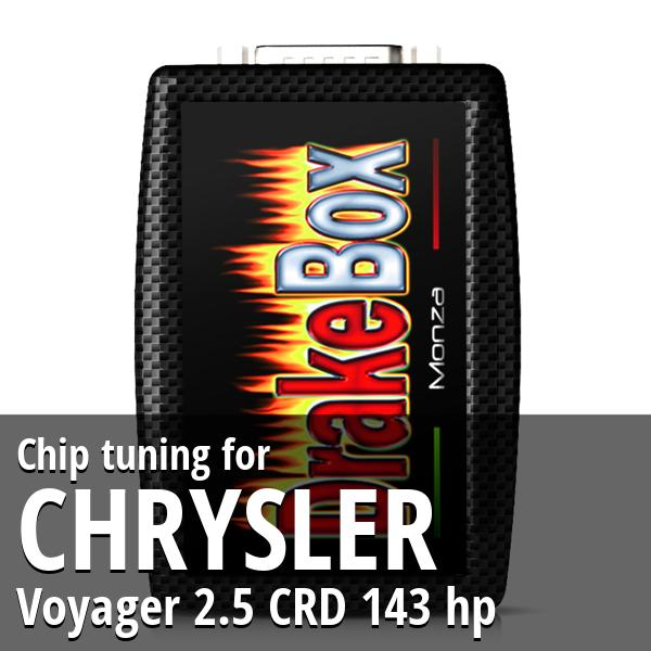Chip tuning Chrysler Voyager 2.5 CRD 143 hp