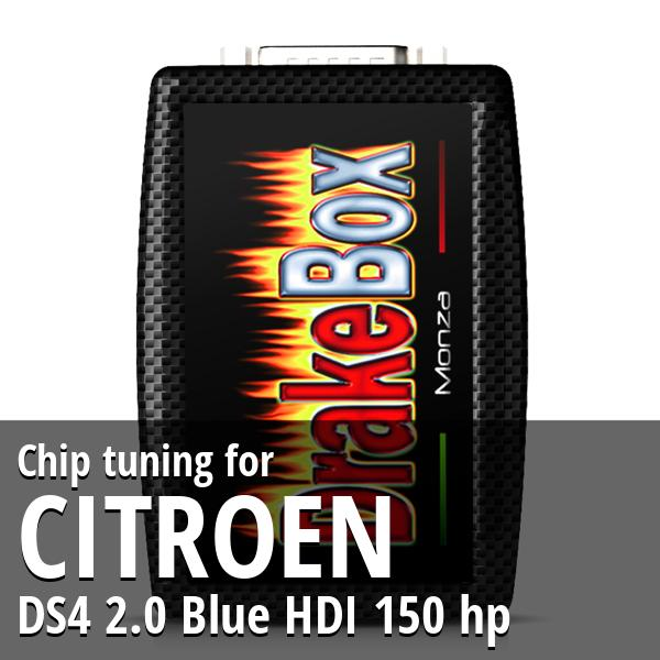 Chip tuning Citroen DS4 2.0 Blue HDI 150 hp