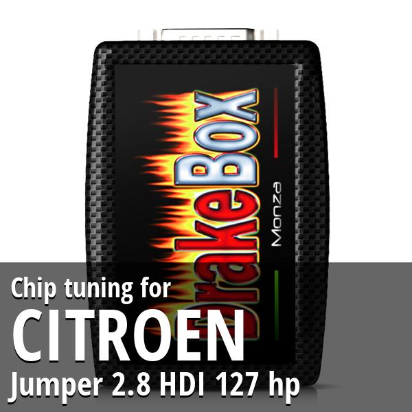 Chip tuning Citroen Jumper 2.8 HDI 127 hp