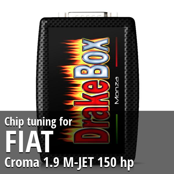 Chip tuning Fiat Croma 1.9 M-JET 150 hp
