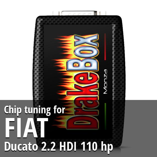 Chip tuning Fiat Ducato 2.2 HDI 110 hp