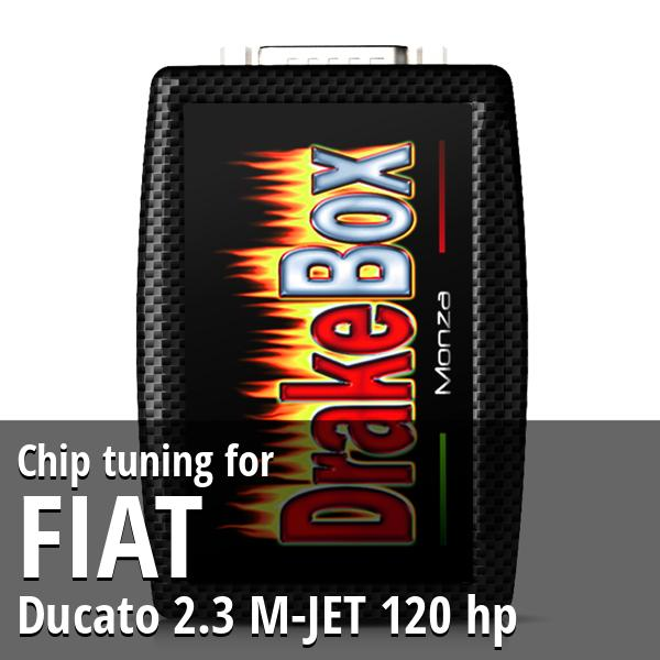 Chip tuning Fiat Ducato 2.3 M-JET 120 hp