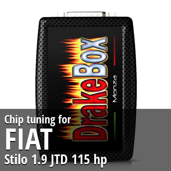 Chip tuning Fiat Stilo 1.9 JTD 115 hp
