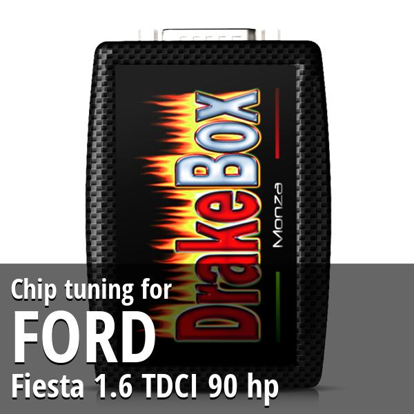 Chip tuning Ford Fiesta 1.6 TDCI 90 hp
