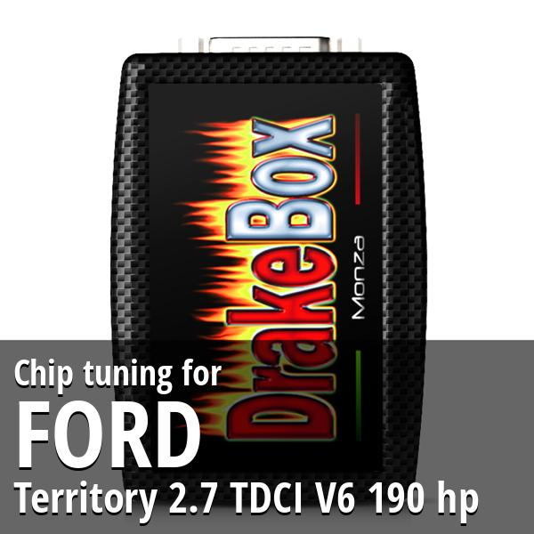 Chip tuning Ford Territory 2.7 TDCI V6 190 hp