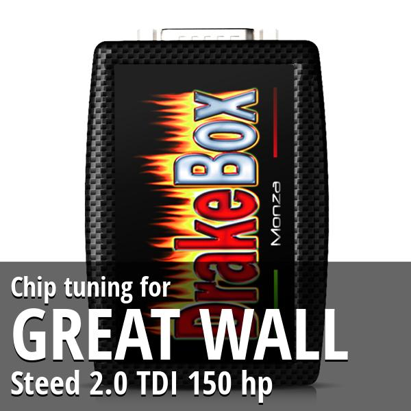 Chip tuning Great Wall Steed 2.0 TDI 150 hp