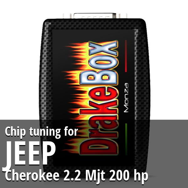 Chip tuning Jeep Cherokee 2.2 Mjt 200 hp