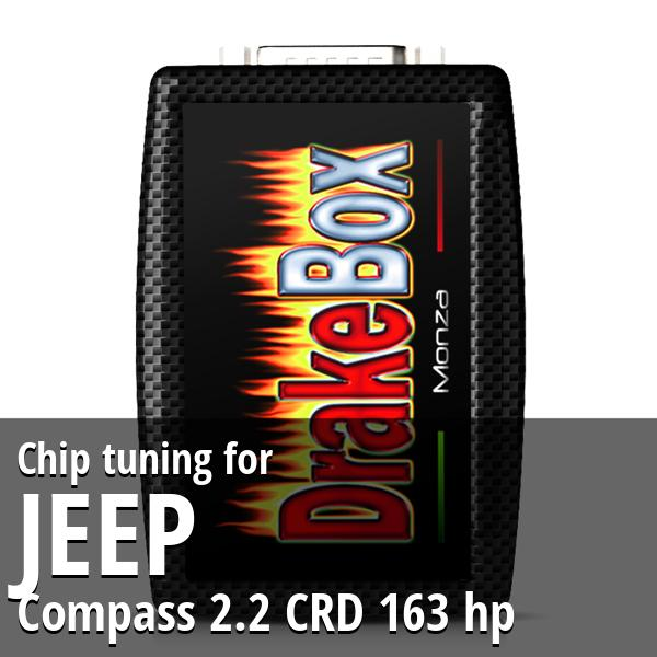 Chip tuning Jeep Compass 2.2 CRD 163 hp