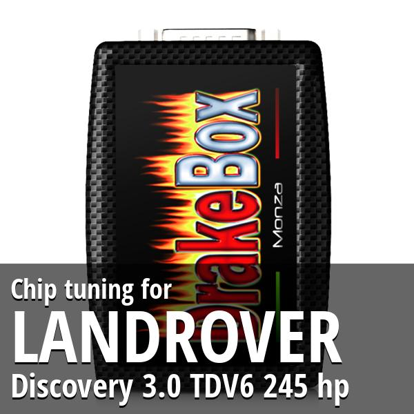 Chip tuning Landrover Discovery 3.0 TDV6 245 hp