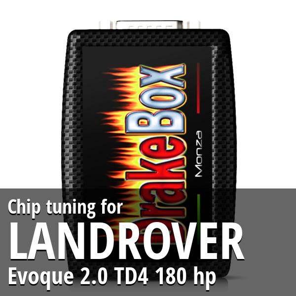 Chip tuning Landrover Evoque 2.0 TD4 180 hp