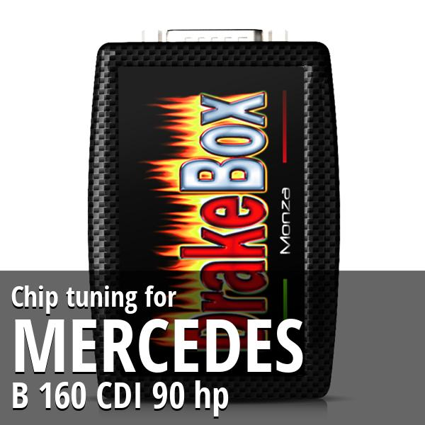 Chip tuning Mercedes B 160 CDI 90 hp