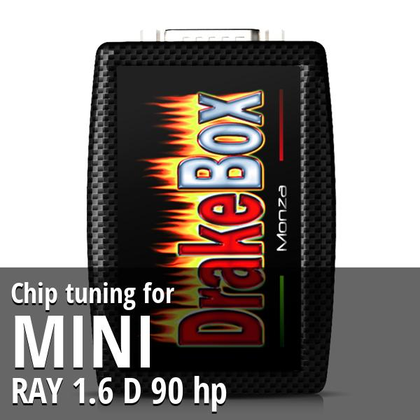 Chip tuning Mini RAY 1.6 D 90 hp