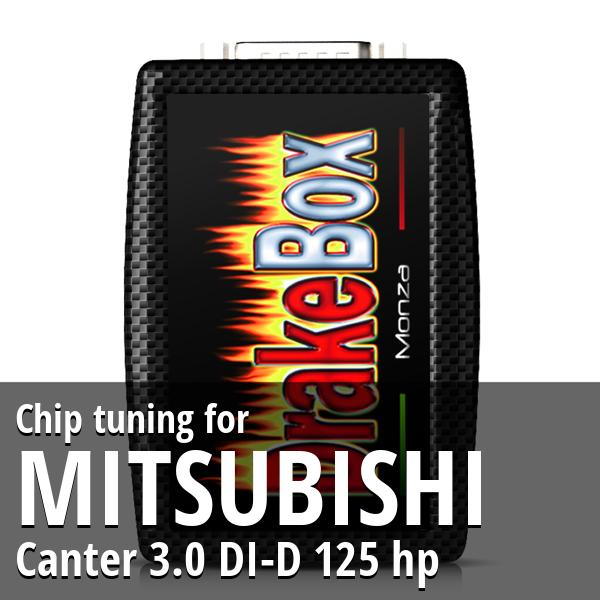 Chip tuning Mitsubishi Canter 3.0 DI-D 125 hp