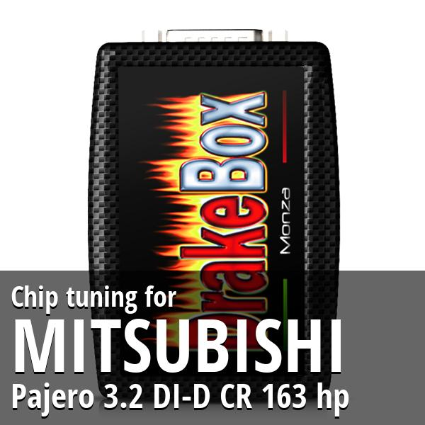 Chip tuning Mitsubishi Pajero 3.2 DI-D CR 163 hp