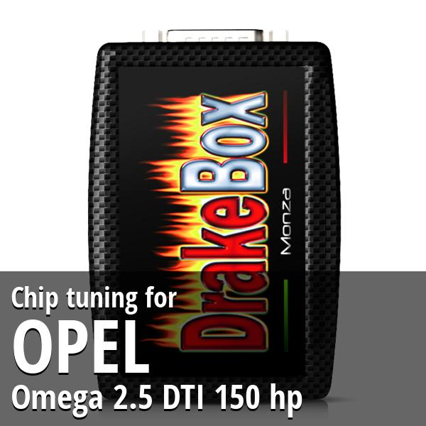 Chip tuning Opel Omega 2.5 DTI 150 hp