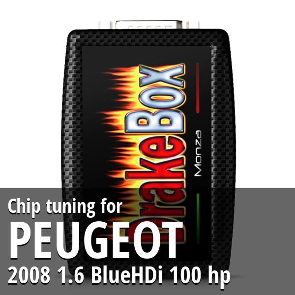 Chip tuning Peugeot 2008 1.6 BlueHDi 100 hp