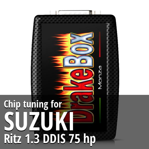 Chip tuning Suzuki Ritz 1.3 DDIS 75 hp