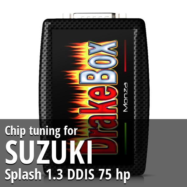 Chip tuning Suzuki Splash 1.3 DDIS 75 hp