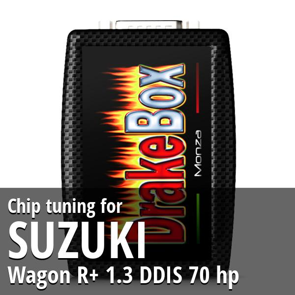 Chip tuning Suzuki Wagon R+ 1.3 DDIS 70 hp
