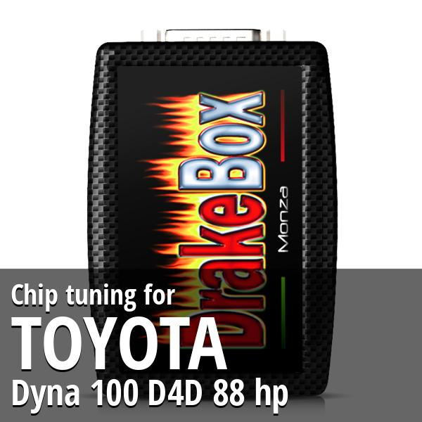 Chip tuning Toyota Dyna 100 D4D 88 hp