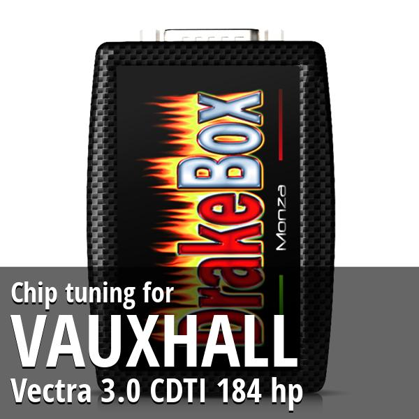 Chip tuning Vauxhall Vectra 3.0 CDTI 184 hp