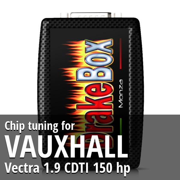 Chip tuning Vauxhall Vectra 1.9 CDTI 150 hp