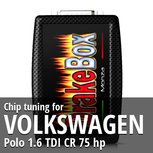 Chip tuning Volkswagen Polo 1.6 TDI CR 75 hp