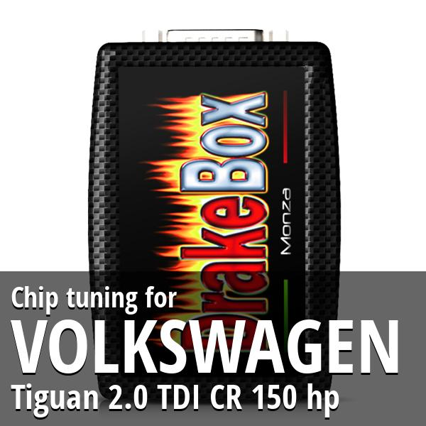 Chip tuning Volkswagen Tiguan 2.0 TDI CR 150 hp