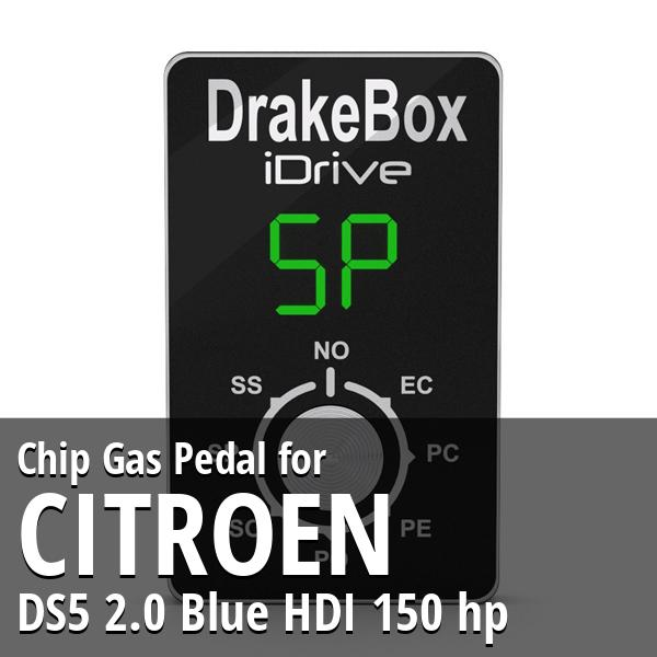 Chip Citroen DS5 2.0 Blue HDI 150 hp Gas Pedal