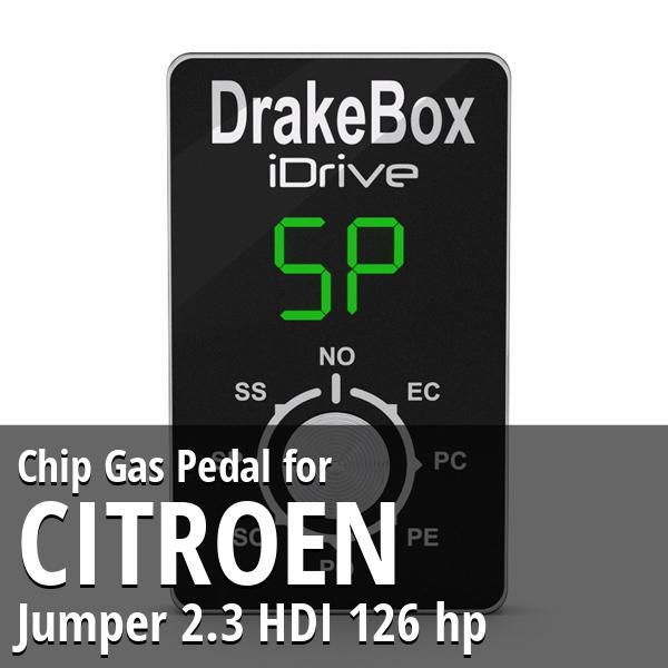 Chip Citroen Jumper 2.3 HDI 126 hp Gas Pedal