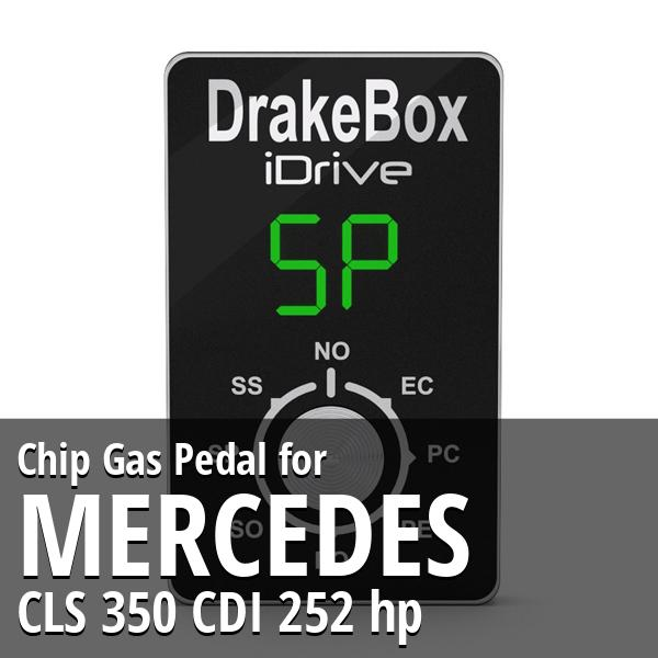 Chip Mercedes CLS 350 CDI 252 hp Gas Pedal