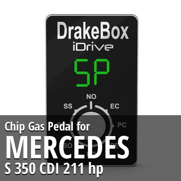 Chip Mercedes S 350 CDI 211 hp Gas Pedal