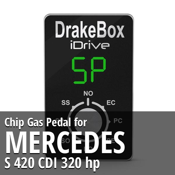 Chip Mercedes S 420 CDI 320 hp Gas Pedal