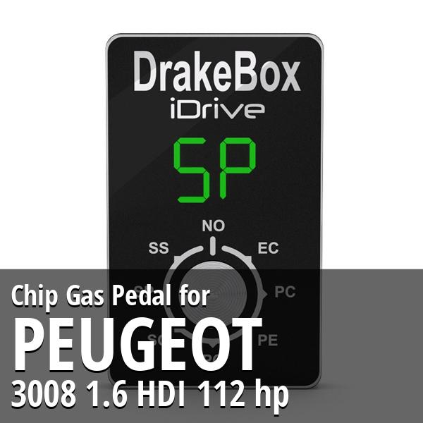 Chip Peugeot 3008 1.6 HDI 112 hp Gas Pedal