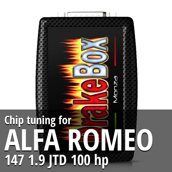 Chip tuning Alfa Romeo 147 1.9 JTD 100 hp