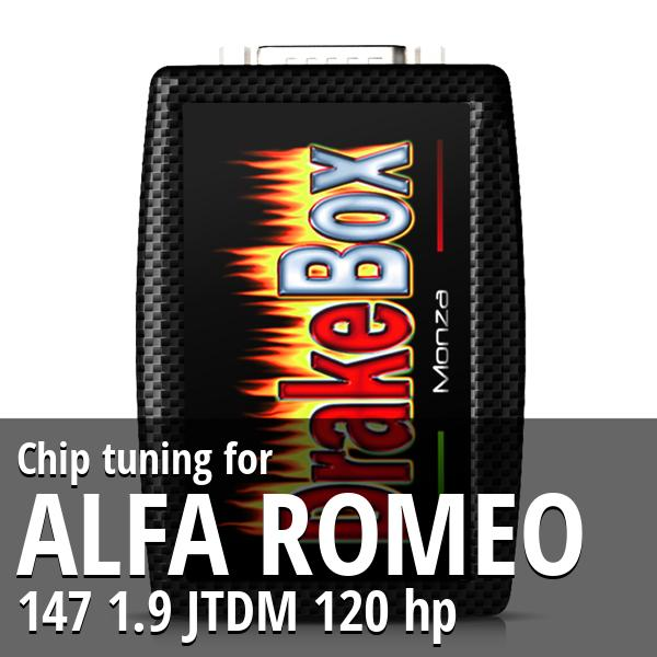 Chip tuning Alfa Romeo 147 1.9 JTDM 120 hp