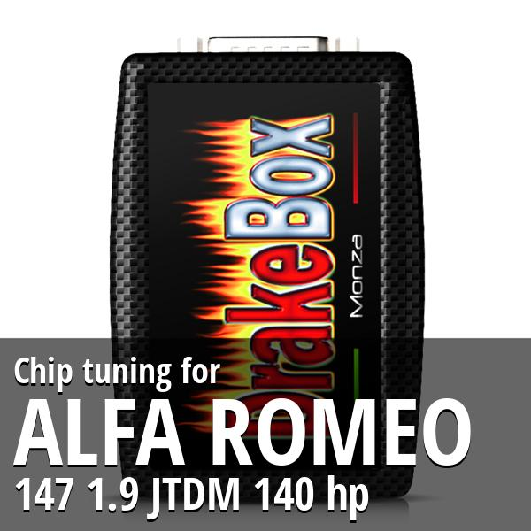 Chip tuning Alfa Romeo 147 1.9 JTDM 140 hp