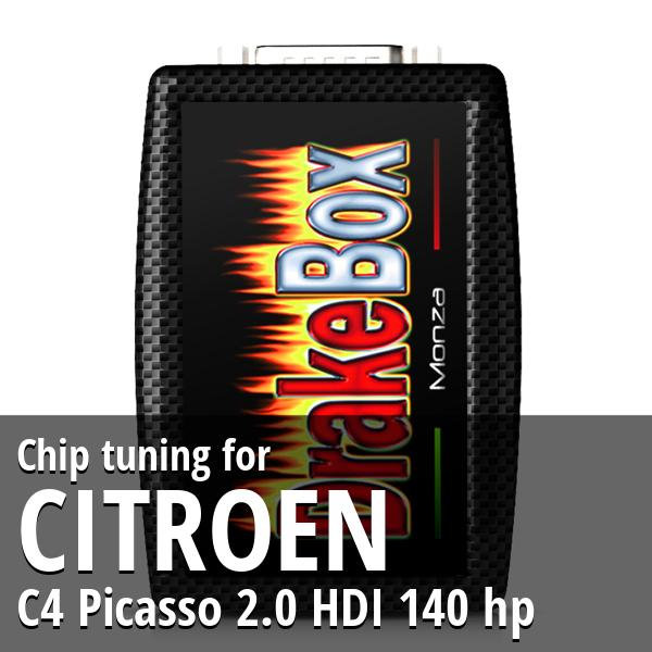 Chip tuning Citroen C4 Picasso 2.0 HDI 140 hp