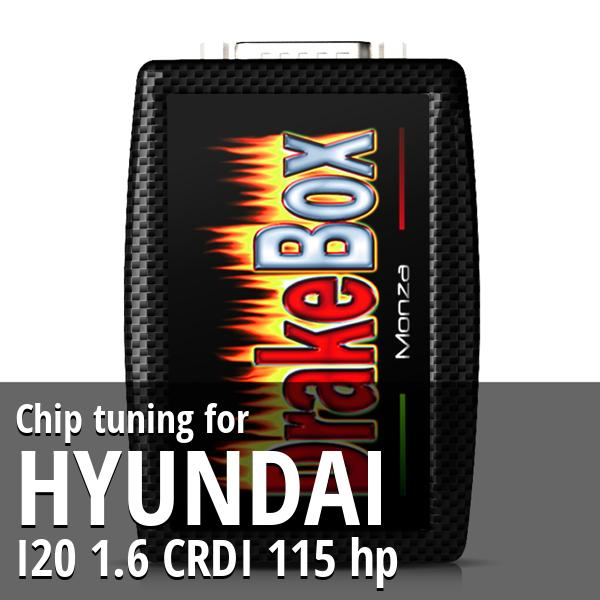 Chip tuning Hyundai I20 1.6 CRDI 115 hp