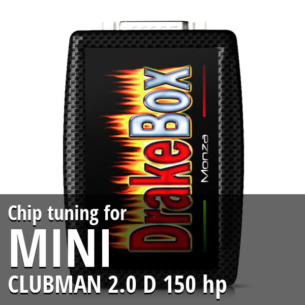 Chip tuning Mini CLUBMAN 2.0 D 150 hp
