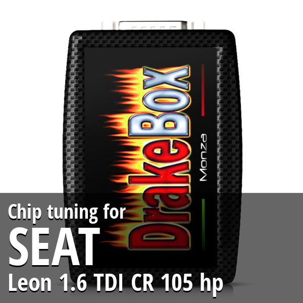 Chip tuning Seat Leon 1.6 TDI CR 105 hp