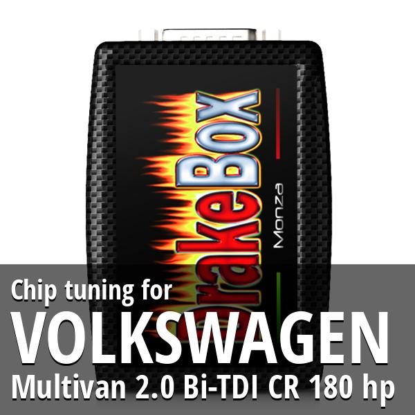 Chip tuning Volkswagen Multivan 2.0 Bi-TDI CR 180 hp